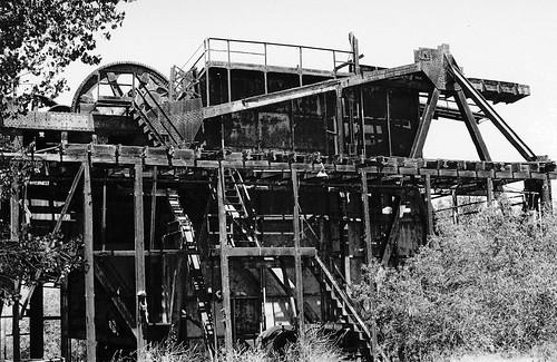 Tuolumne Gold Dredge Ruins