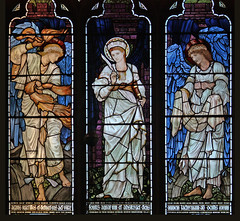 Patroness of Philosophers (Lawrence OP) Tags: christchurch window glass saint cathedral stained virgin angels oxford martyr burnejones stcatherineofalexandria