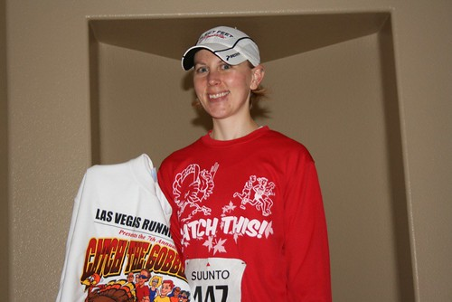 Me, after the Catch the Gobbler 5K with my entrants sweatshirt.