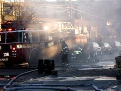 5 alarm fire in astoria, 03 (Mitch Waxman) Tags: newyork fire display hires fireman longislandcity newyorkers disasters astoriaqueens pickman httpwwwweirdassnet