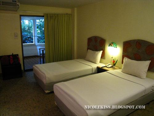 greenary hotel room