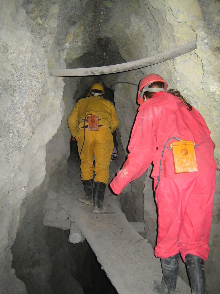 Tunnels, Potosi Mines, Cerro de Potosi, Bolivia