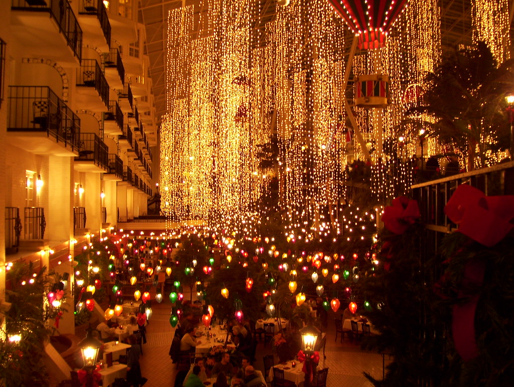 027: Opryland Hotel, Christmas 2008