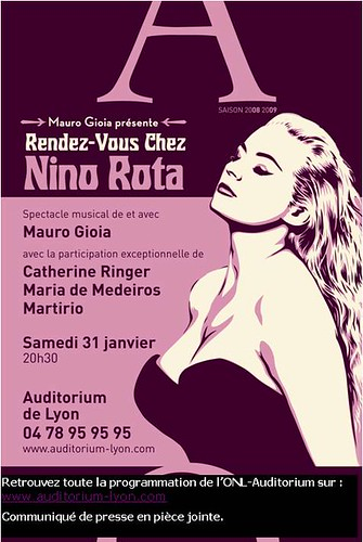 NINO ROTA Mauro Gioia, Catherine Ringer, Maria de Medeiros 3095374250_a12b193986