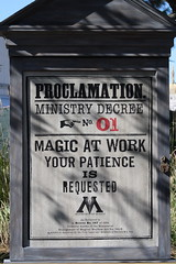 Magic at Work sign