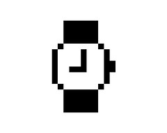 t i m e (@jessewright) Tags: apple mac time icon pixel 2008 loading jessewright preosx