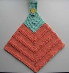 Ravelry mitered hanging towel pattern by cristina bernardi shiffman by kaygardiner flickr dt1010fo
