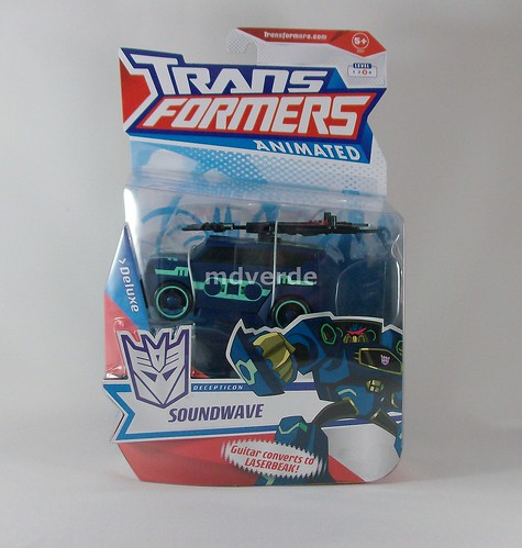 Transformers Soundwave Animated Deluxe - caja (by mdverde)