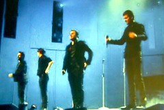 Take That performing at the Royal Variety Show 16 Dec 2008