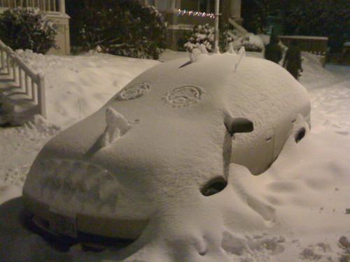 Portland Snow Car