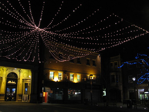 Christmas Lights in Morpeth
