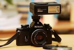 Nikon EM + Nikon Series E 50mm 1:1.8 + SB-10 (Sauli Särkkä) Tags: bokeh m42 28 pentacon em manualfocus 135mm cameraporn nikonem nikond200 mflenses saulisärkkä