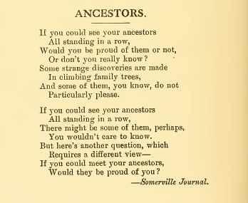 Ancestors by midgefrazel