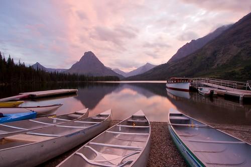 Sunrise at Two Medicines -- Glacier National Park