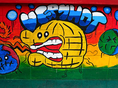 Save the Planet (Ian Fuller) Tags: art thailand asia bangkok th bangkapi krungthep    huamak wattheppleela