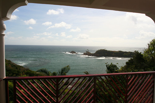 our view @ Calibishie Cove