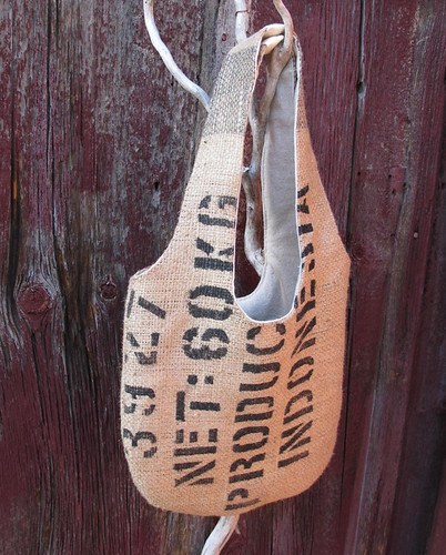 coffee sack handbag