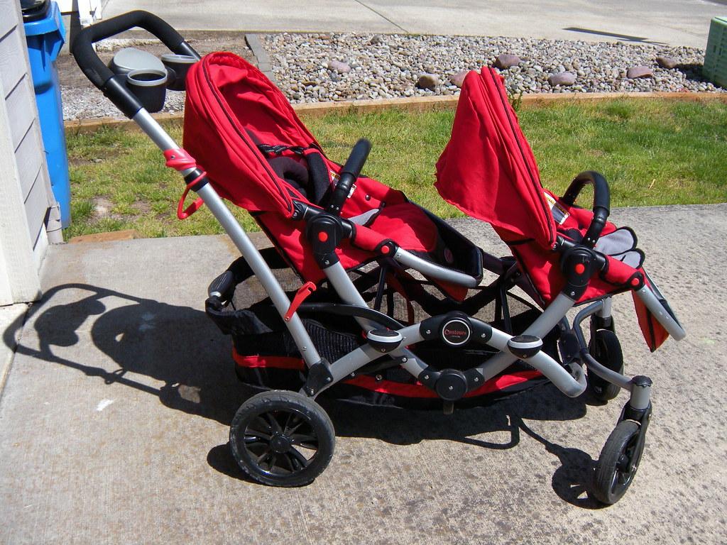 Contours Options Tandem Stroller - Ruby