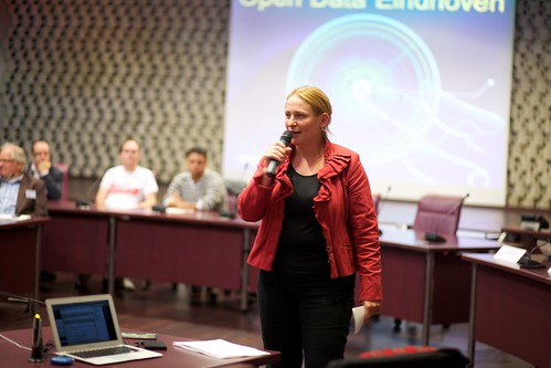 Wethouder Mary Fiers @ Open Data Eindhoven