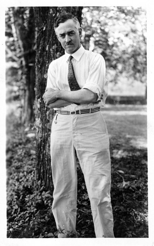 Zoologist Winterton Conway Curtis (1875-1969) taught at the University of Missouri, and traveled to
