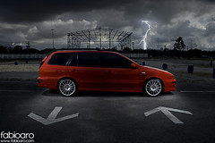 Teaser - Fiat Marea Turbo (Fabio Aro) Tags: car de fiat weekend flash automotive fabio turbo carros rua cdr strobe marea aro mwt fabioaro fabioarocom fivetech