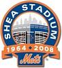 Shea Stadium New York Mets 1964-2008 final season logo