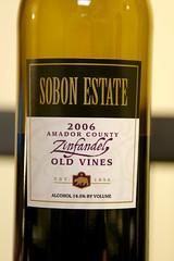 2006 Sobon Estate Old Vines Zinfandel