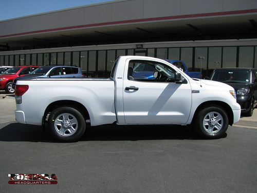 Lowering your Tundra is a great way to improve handling and looks.