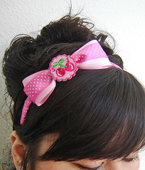 Cherry POP Headband by Linzinator!