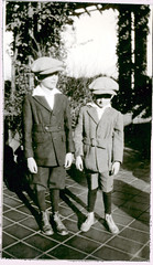 Two boys Vancouver BC (anyjazz65) Tags: children child pair foundphotograph child3 ajo65 2child
