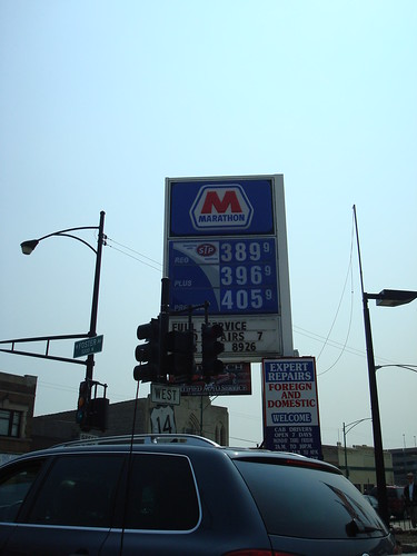 The price of gas keeps on rising, nothing comes for free