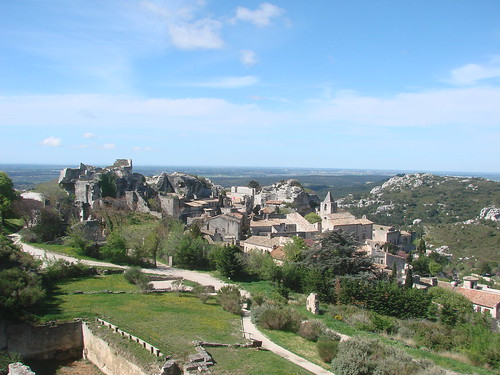 Les Baux view best