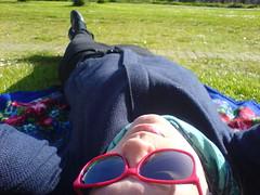 langstrakt meg (spisepinner) Tags: meg gress kua solbriller grnt