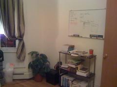 Book Shelf and Whiteboard