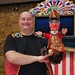Richard Coombs and Mr Punch