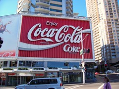 The Coca-Cola Billboard at Kings Cross, Sydney
