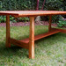 Tori Gate Cherry Dining Table 8'l x 36