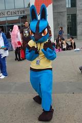 Outside Fanimecon 2008: Lucario (earthdog) Tags: 15fav anime d50 costume nikon cosplay sanjose nikond50 pokemon 2008 fanimecon lucario sanjosemceneryconventioncenter unknownlens animecostume fanimecon08 upcoming:event=708016 pokemoncostume