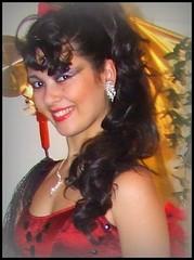GITANA (Loris_l@_r@na) Tags: red woman girl eyes occhi bologna erica rosso sfilata gitana lorisphoto