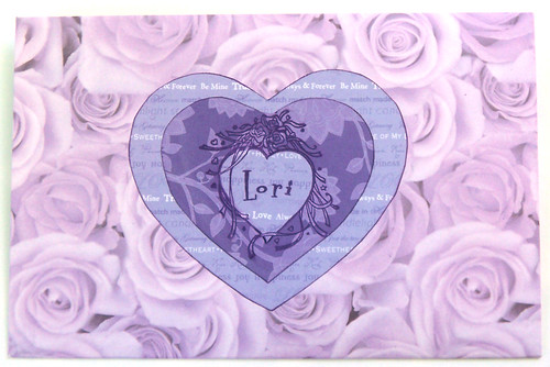 Envelope for Lori