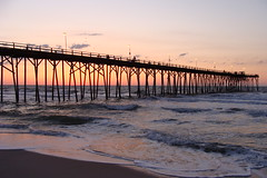 NC - I Finally Caught the Sunrise at the Kure Beach Pier (scott185 (the original)) Tags: sunrise nc northcarolina kurebeach kurebeachpier newhanovercounty rickspixtop50