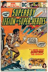 Legion of Super-Heroes 216 (Todd Wilson) Tags: comics superboy lsh legionofsuperheroes legionaires mikegrell