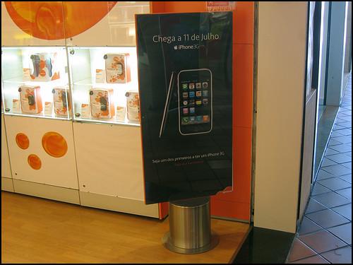 iPhone 3G em Portugal