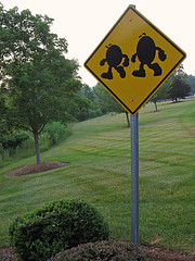 M&M Crossing (magarell) Tags: sign nj mm hackettstown warrencounty peachheadguessed