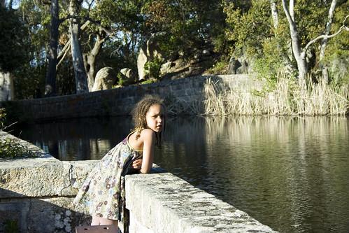 Sur le barrage