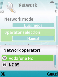 Two gsm networks in central welly