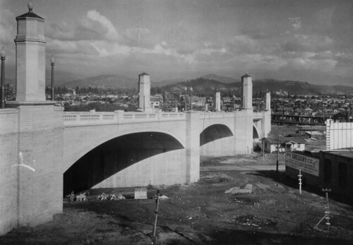 Glendale-Hyperion Bridge - December 4, 1928