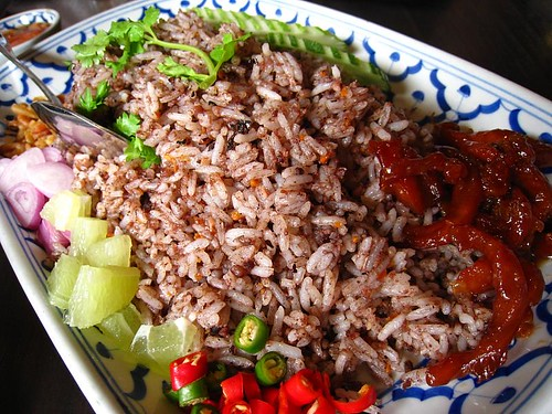 Thai Fried Olive Rice