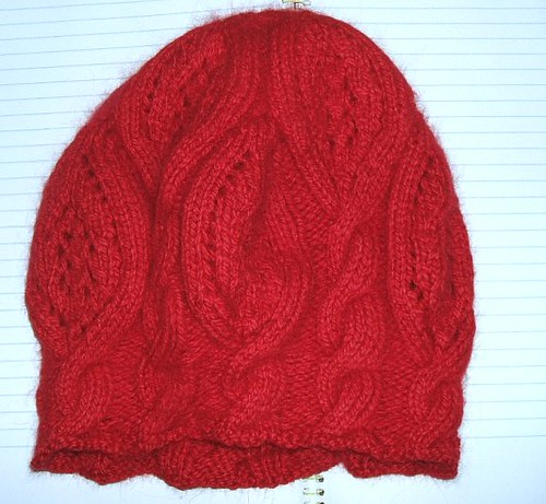 Rose Red - Blocked - Side view
