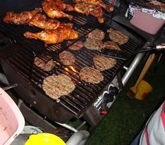 Chapli kabobs and Chicken Tikka (AamerJaved) Tags: food chicken bbq grill kabobs kabob tikka facebook kabab